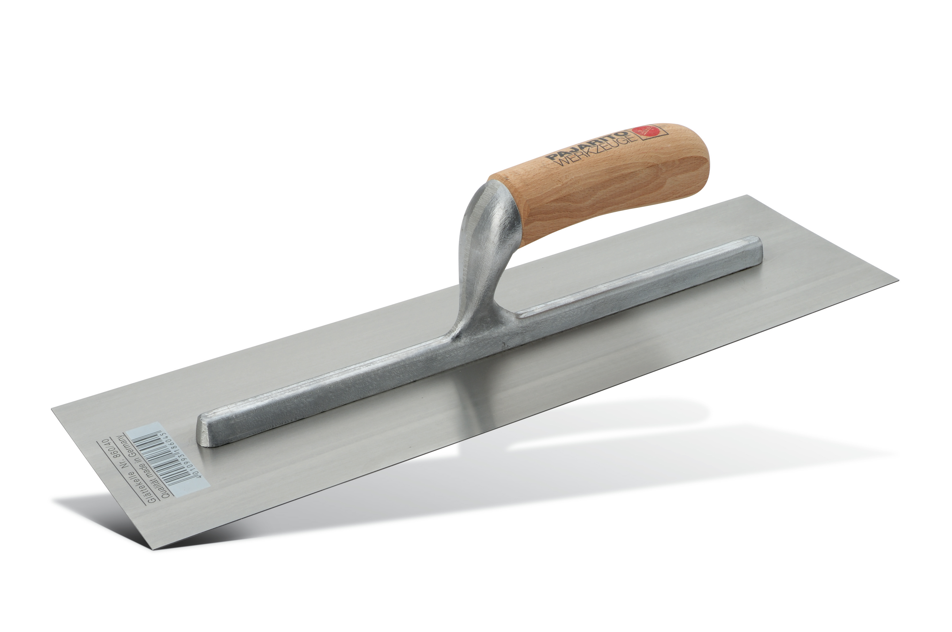 Floor fi nishing trowel, stainless Pajarito