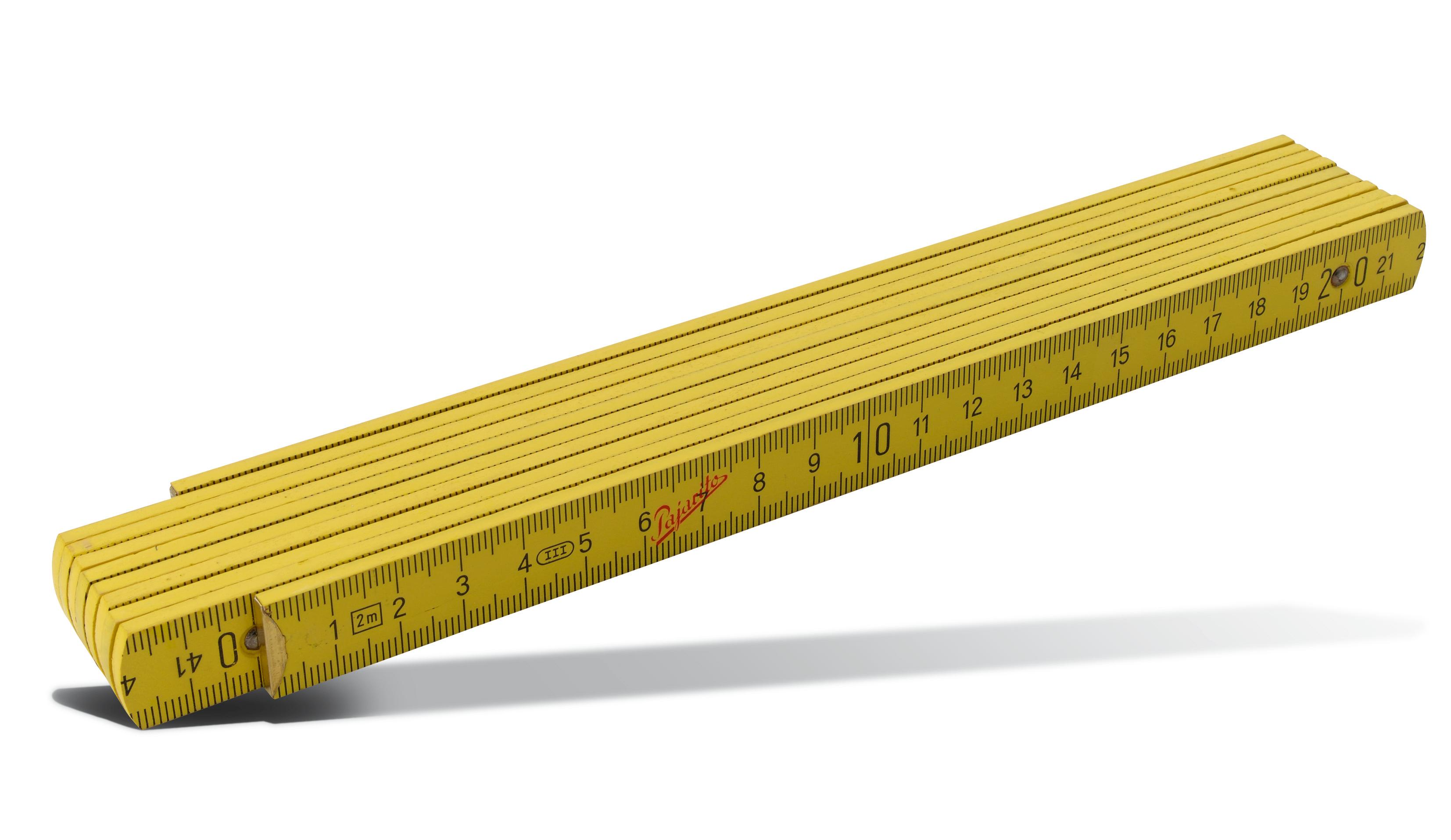 Wooden folding rule Pajarito