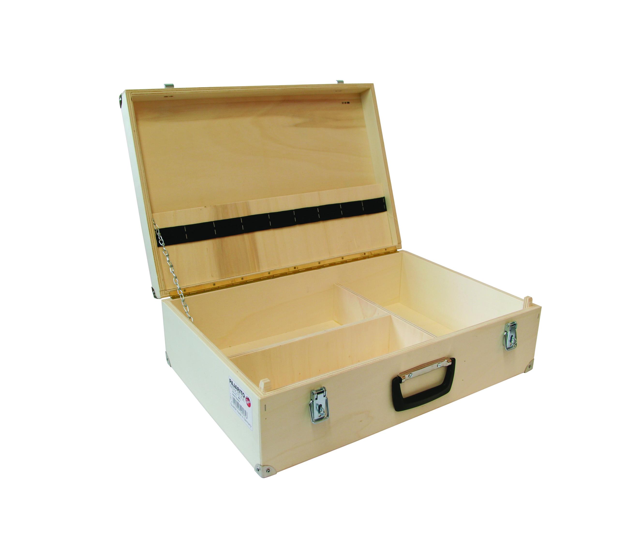 Tool box, empty Pajarito