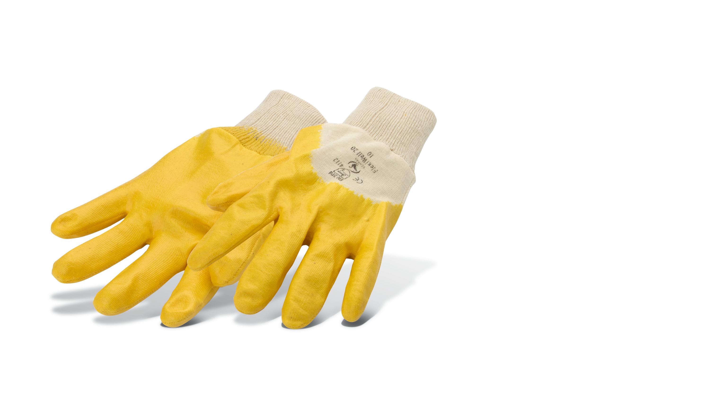Cotton gloves, nitrile Pajarito