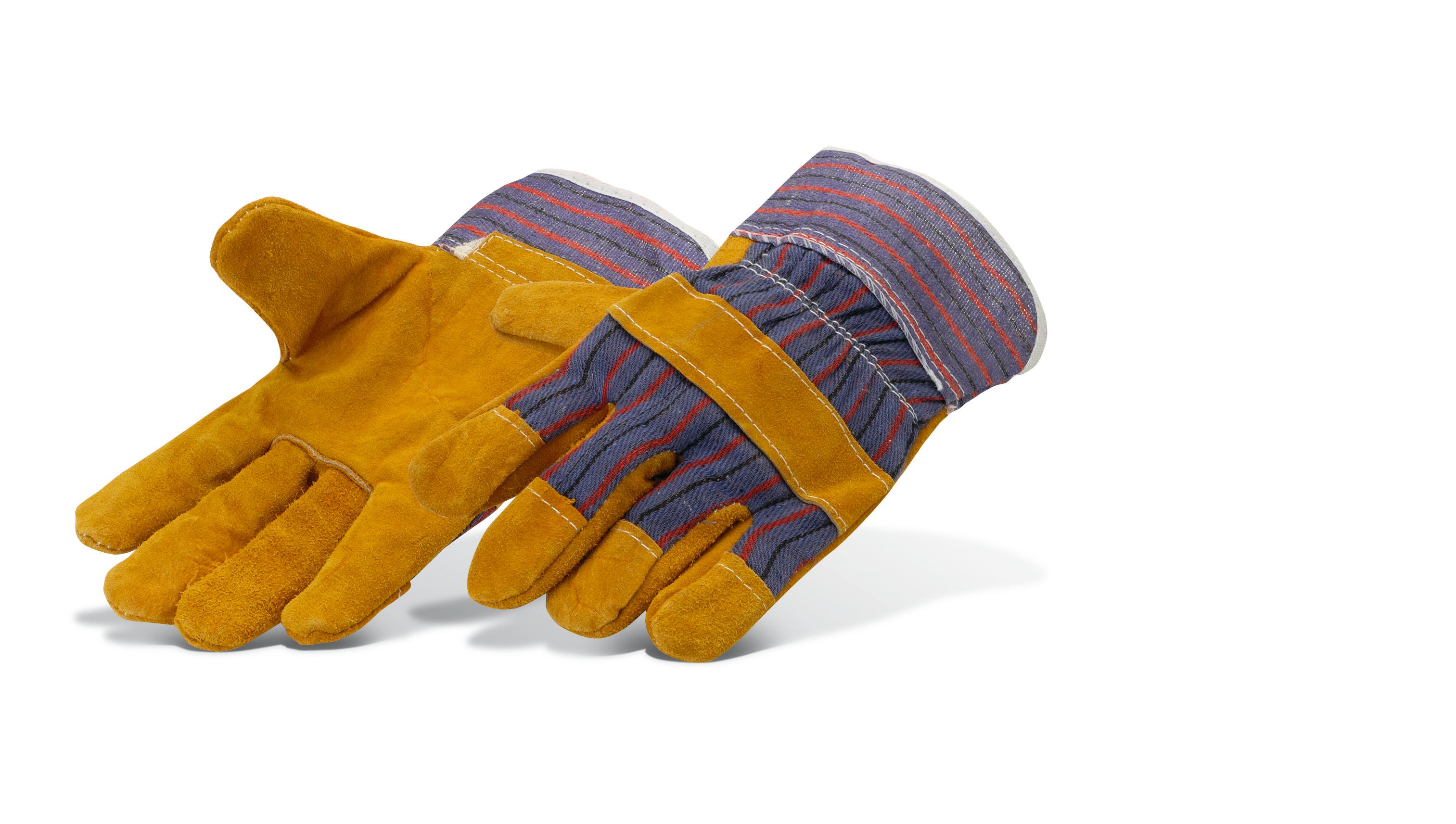 Chrome-leather gloves Pajarito