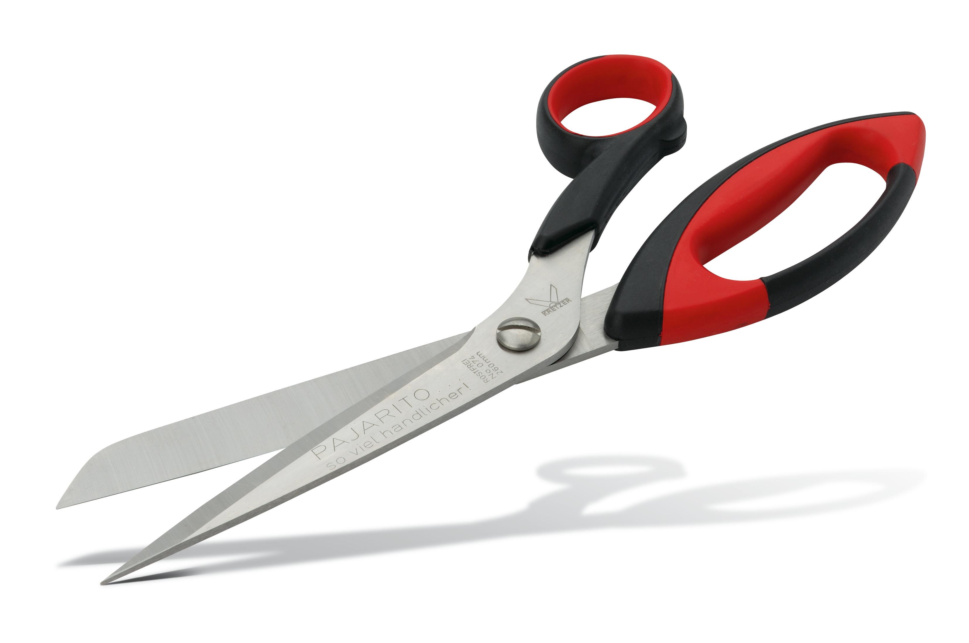 Carpet scissors, stainless Pajarito
