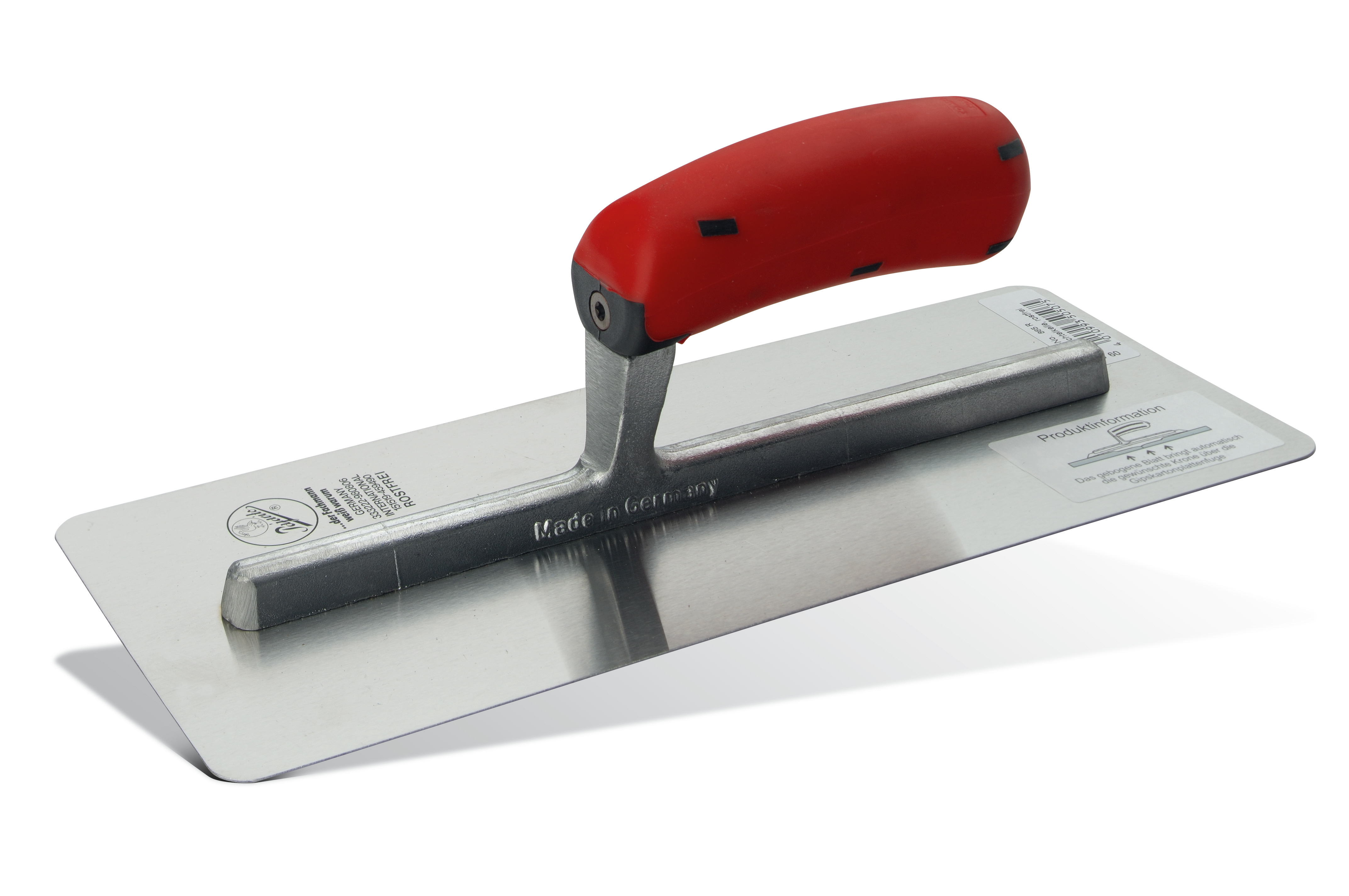 Drywall trowel, stainless Pajarito
